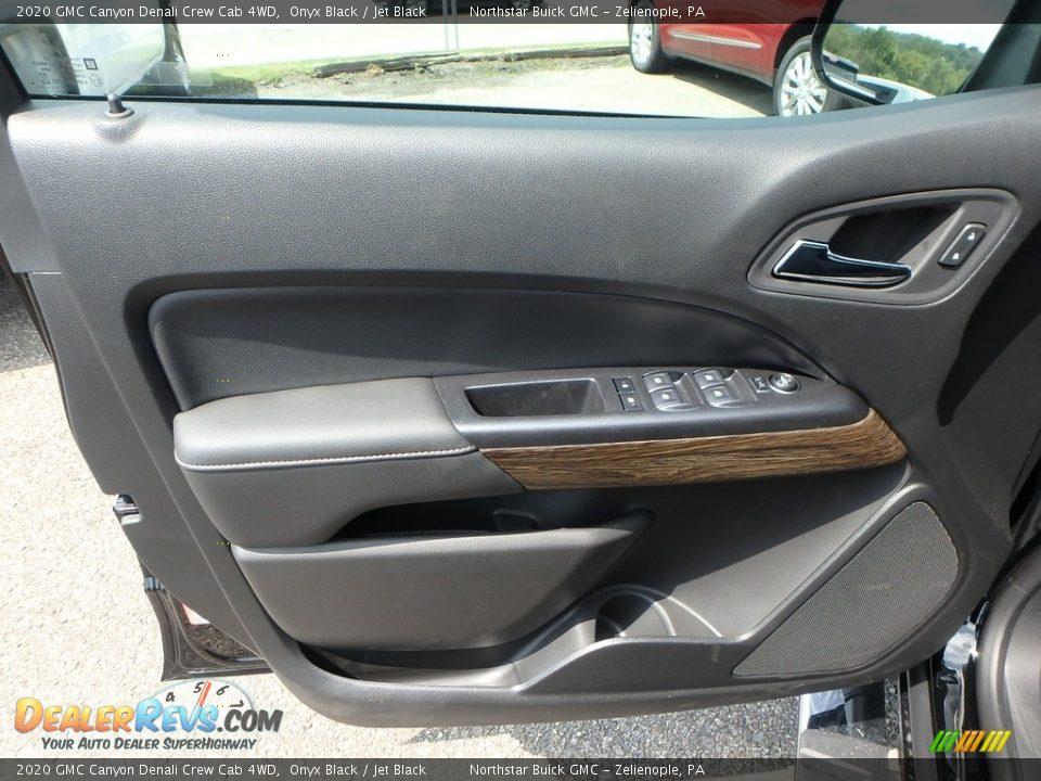 Door Panel of 2020 GMC Canyon Denali Crew Cab 4WD Photo #16