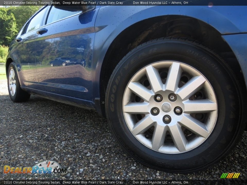 2010 Chrysler Sebring Touring Sedan Deep Water Blue Pearl / Dark Slate Gray Photo #3
