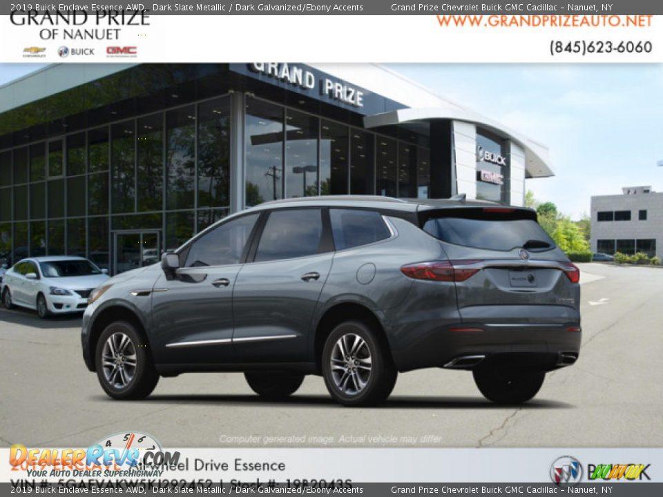 2019 Buick Enclave Essence AWD Dark Slate Metallic / Dark Galvanized/Ebony Accents Photo #3