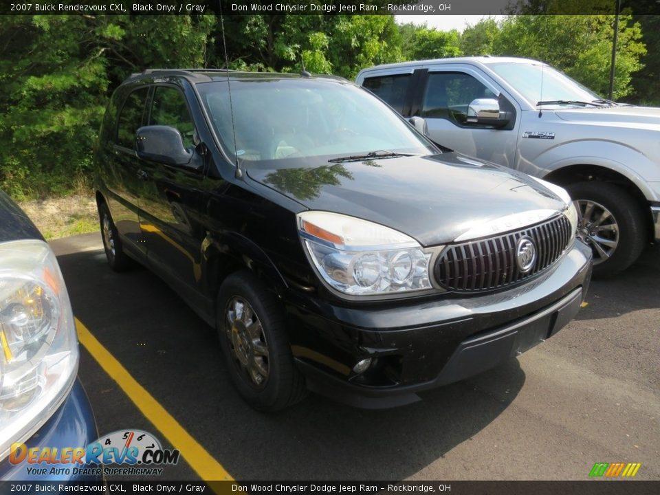2007 Buick Rendezvous CXL Black Onyx / Gray Photo #1
