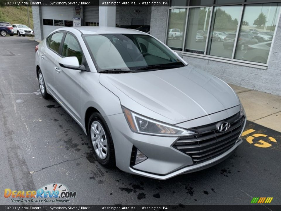 2020 Hyundai Elantra SE Symphony Silver / Black Photo #2