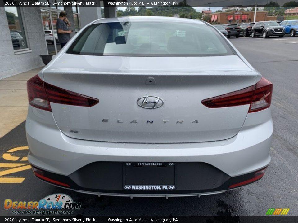 2020 Hyundai Elantra SE Symphony Silver / Black Photo #5