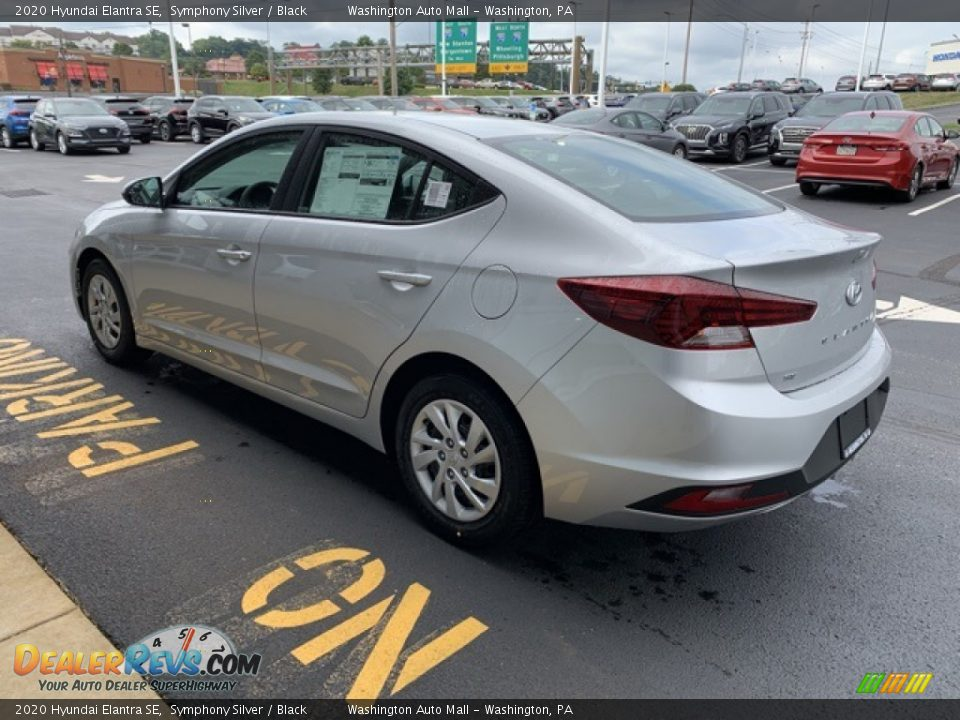 2020 Hyundai Elantra SE Symphony Silver / Black Photo #6