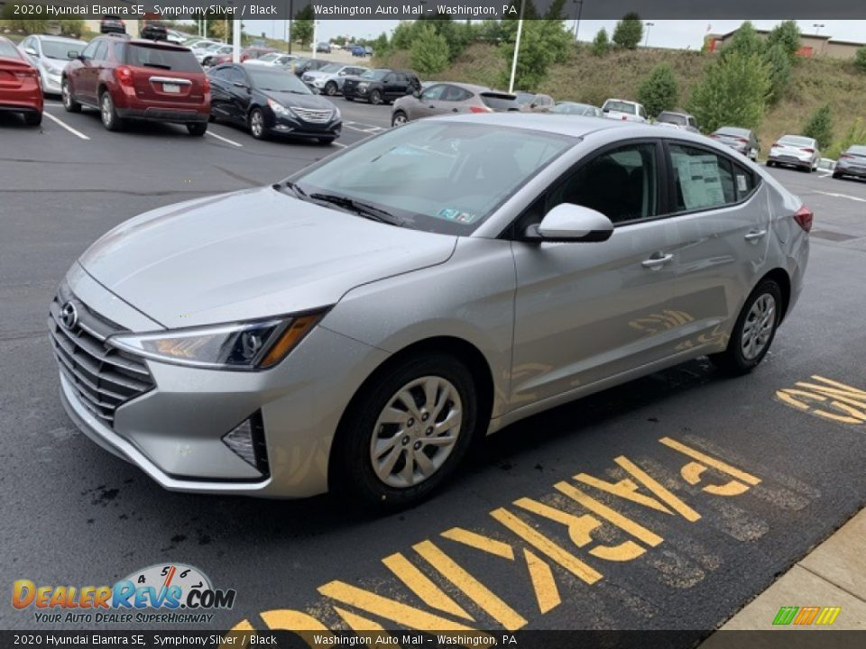 2020 Hyundai Elantra SE Symphony Silver / Black Photo #7