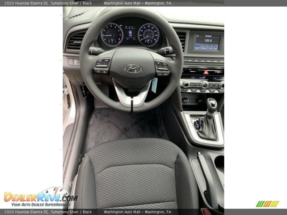 2020 Hyundai Elantra SE Symphony Silver / Black Photo #14