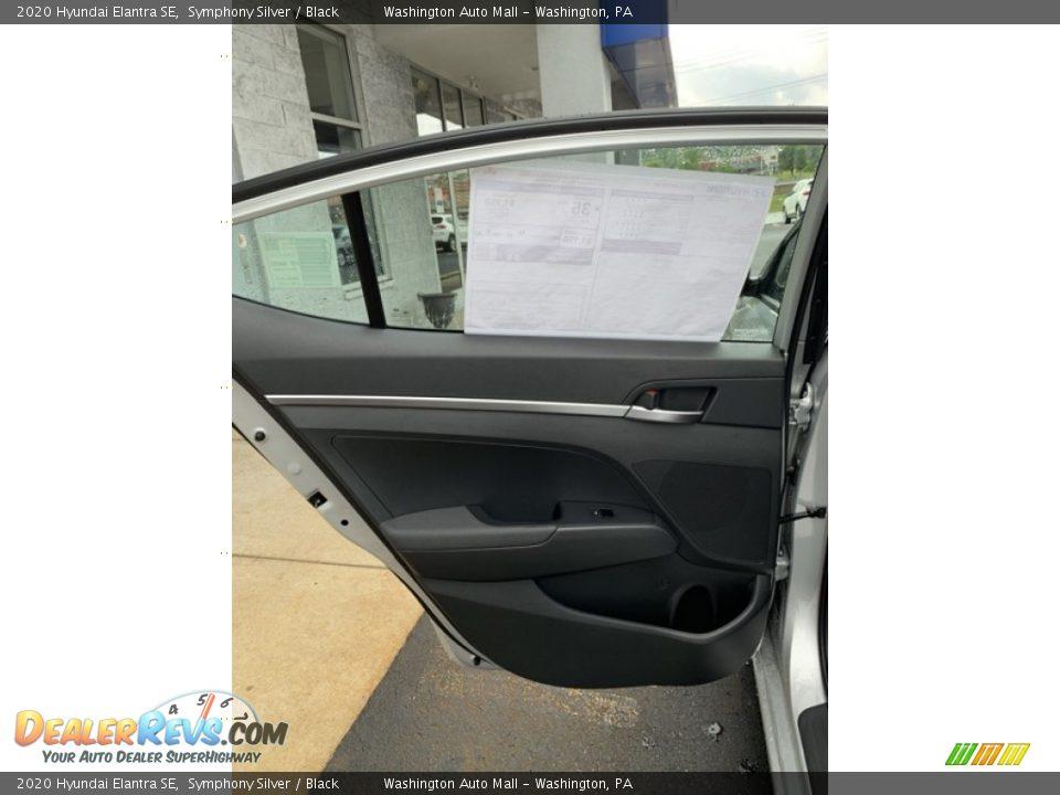 2020 Hyundai Elantra SE Symphony Silver / Black Photo #17