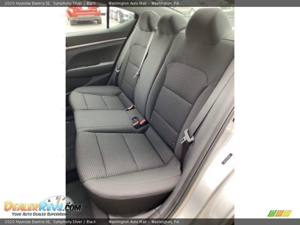Rear Seat of 2020 Hyundai Elantra SE Photo #19