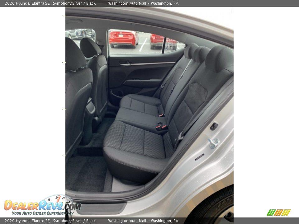 Rear Seat of 2020 Hyundai Elantra SE Photo #20
