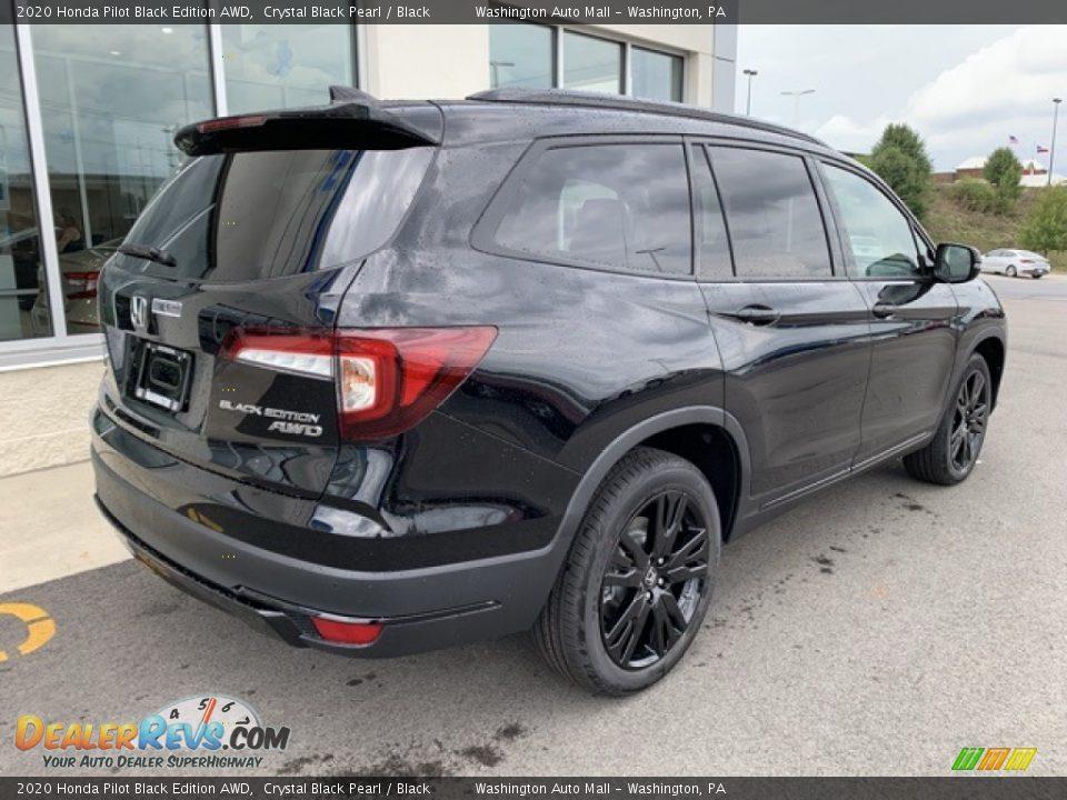 2020 Honda Pilot Black Edition AWD Crystal Black Pearl / Black Photo #7