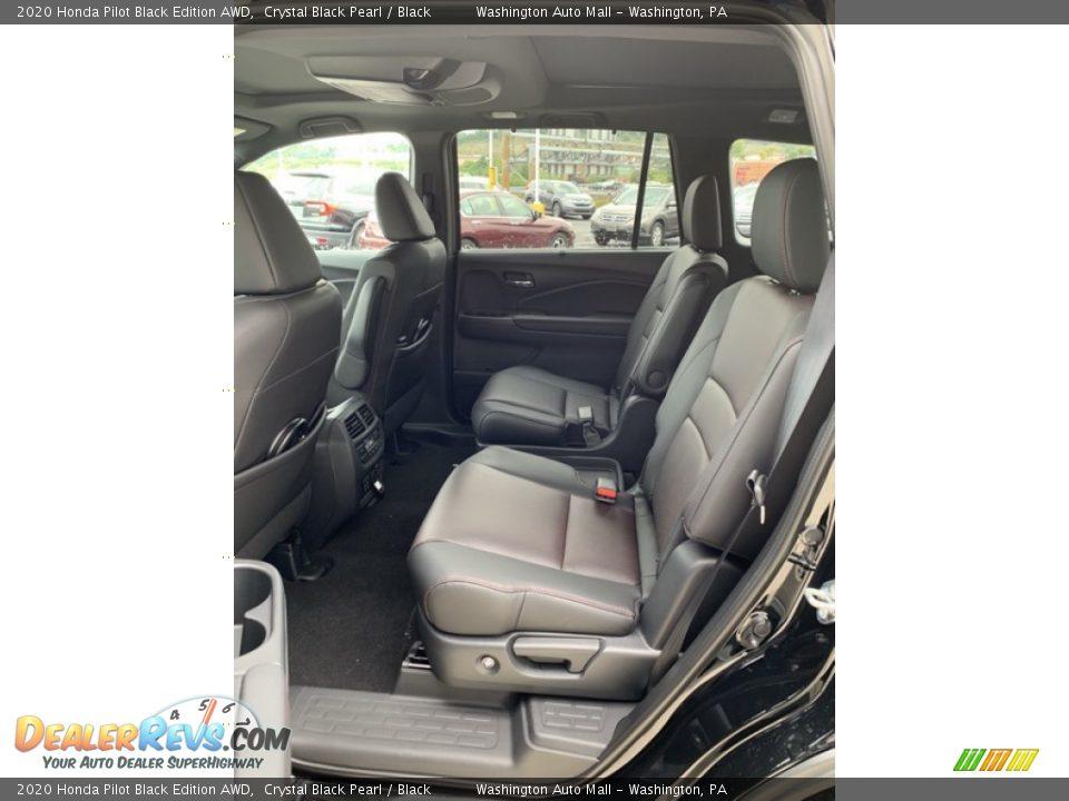 2020 Honda Pilot Black Edition AWD Crystal Black Pearl / Black Photo #19