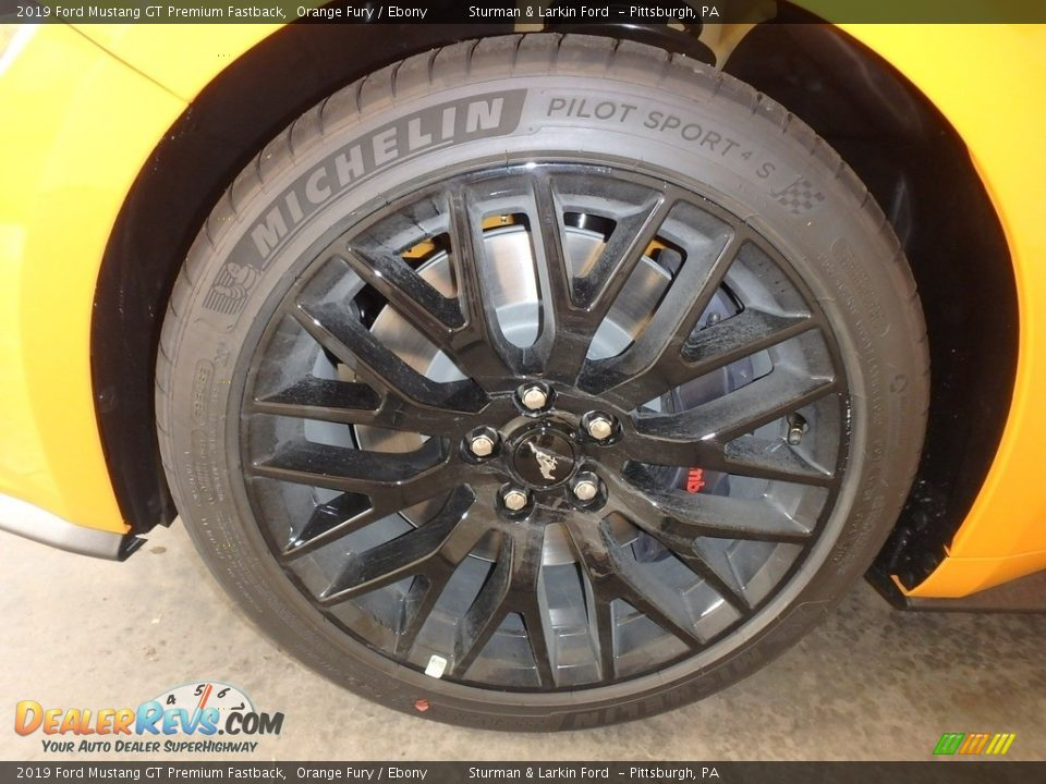 2019 Ford Mustang GT Premium Fastback Wheel Photo #6