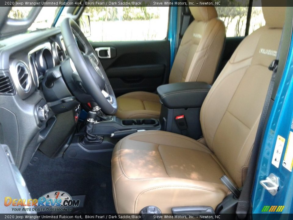 Dark Saddle/Black Interior - 2020 Jeep Wrangler Unlimited Rubicon 4x4 Photo #10