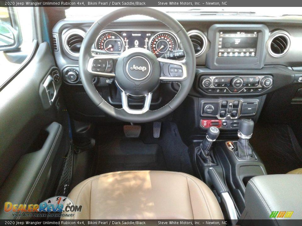 Dashboard of 2020 Jeep Wrangler Unlimited Rubicon 4x4 Photo #28