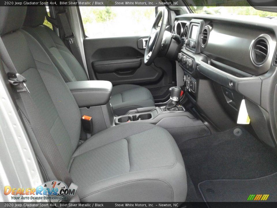 2020 Jeep Gladiator Sport 4x4 Billet Silver Metallic / Black Photo #14