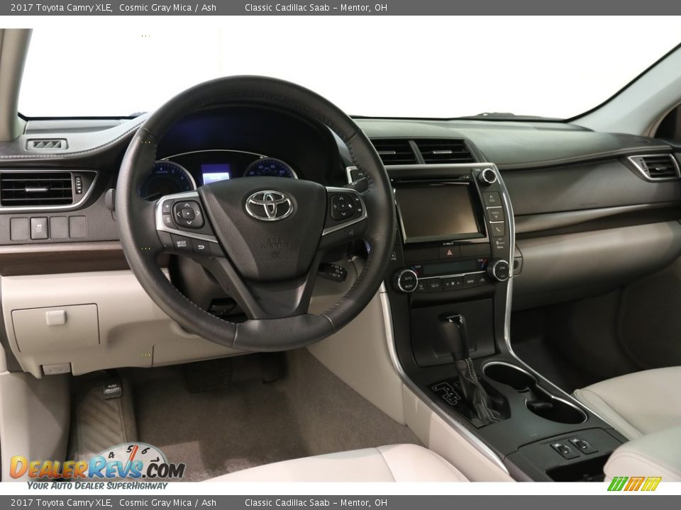 2017 Toyota Camry XLE Cosmic Gray Mica / Ash Photo #6