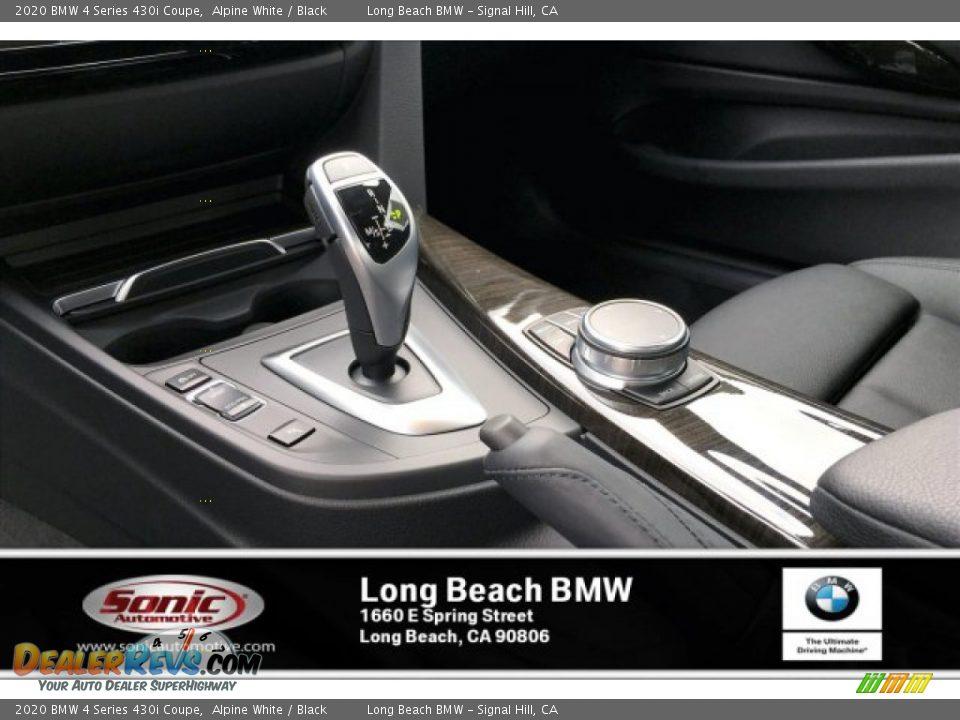 2020 BMW 4 Series 430i Coupe Alpine White / Black Photo #6