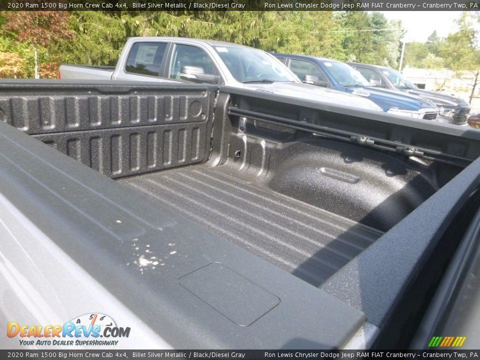 2020 Ram 1500 Big Horn Crew Cab 4x4 Billet Silver Metallic / Black/Diesel Gray Photo #12