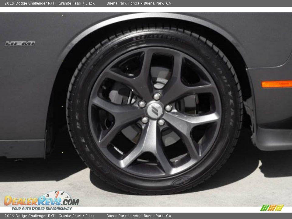 2019 Dodge Challenger R/T Granite Pearl / Black Photo #31
