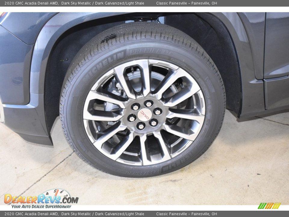 2020 GMC Acadia Denali AWD Wheel Photo #5