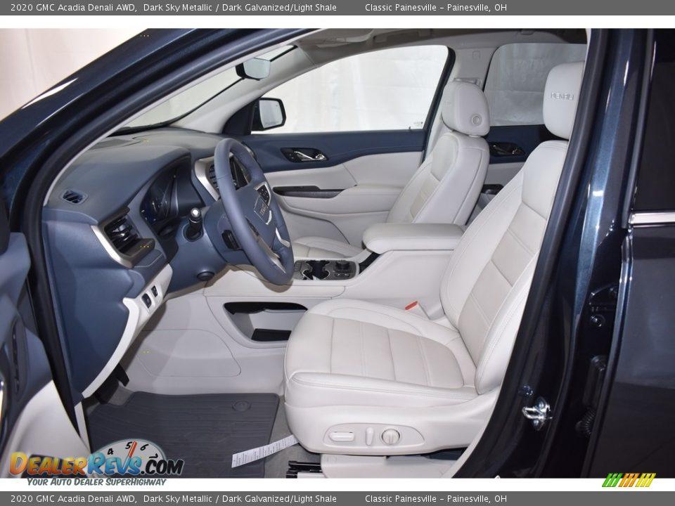 Front Seat of 2020 GMC Acadia Denali AWD Photo #6