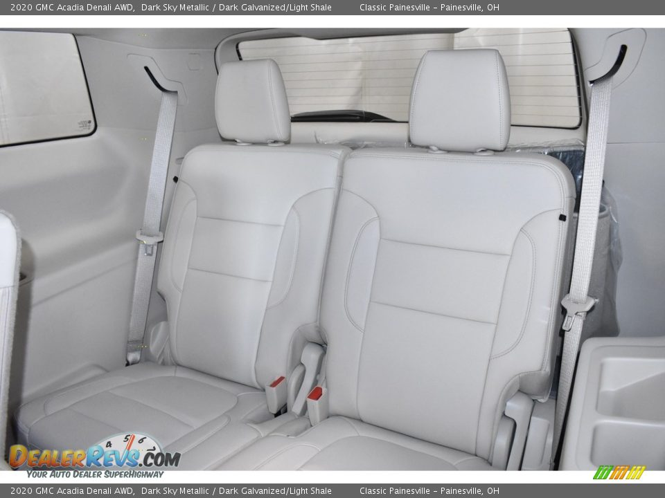 Rear Seat of 2020 GMC Acadia Denali AWD Photo #8