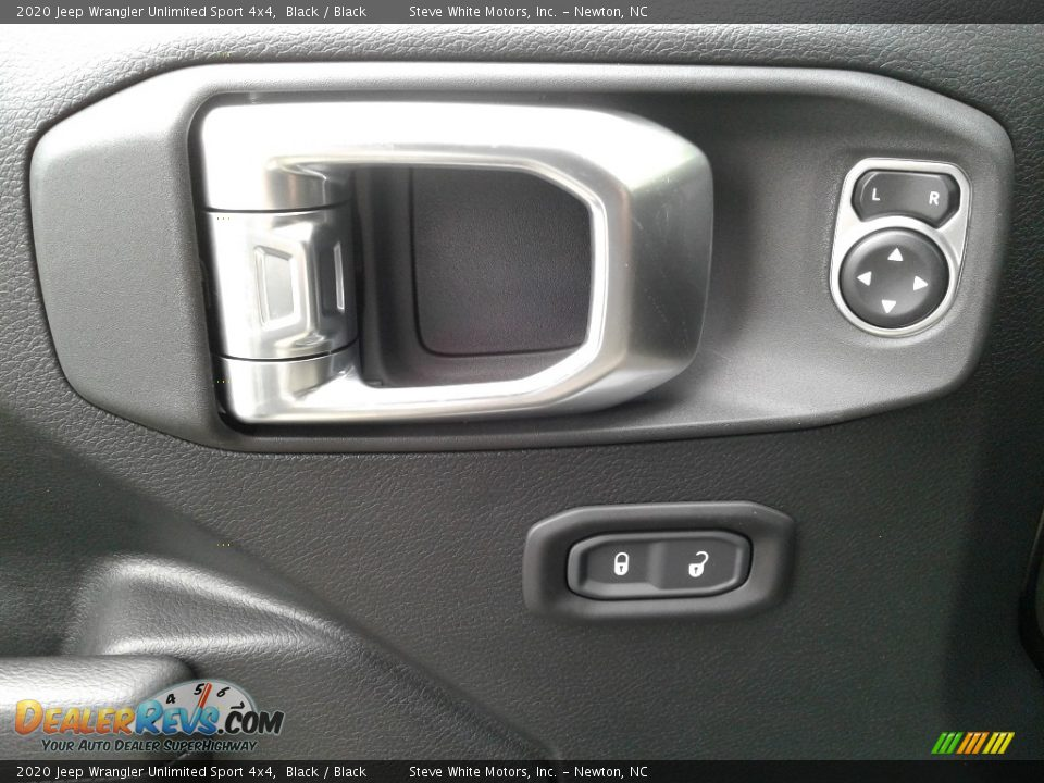2020 Jeep Wrangler Unlimited Sport 4x4 Black / Black Photo #9