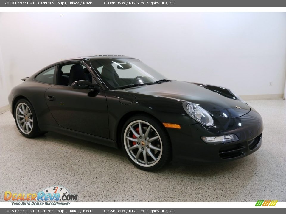 2008 Porsche 911 Carrera S Coupe Black / Black Photo #1