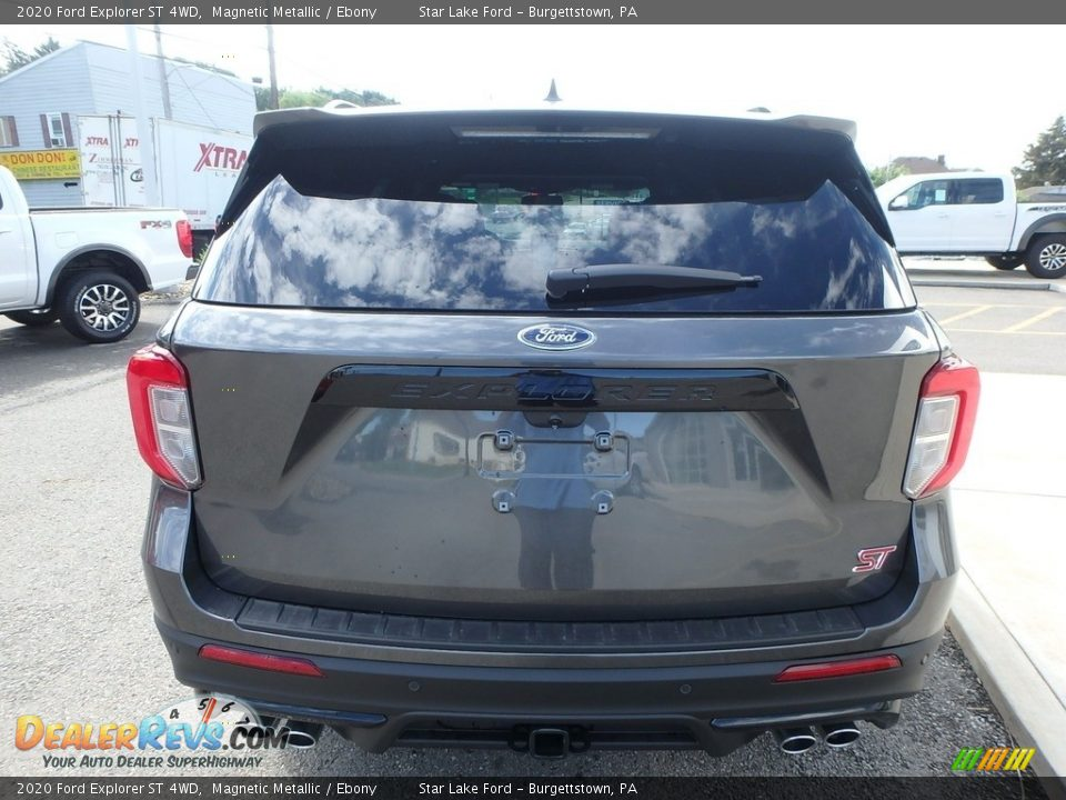 2020 Ford Explorer ST 4WD Magnetic Metallic / Ebony Photo #7