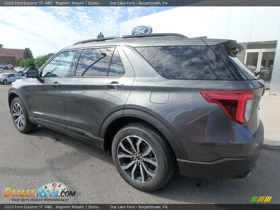 2020 Ford Explorer ST 4WD Magnetic Metallic / Ebony Photo #8