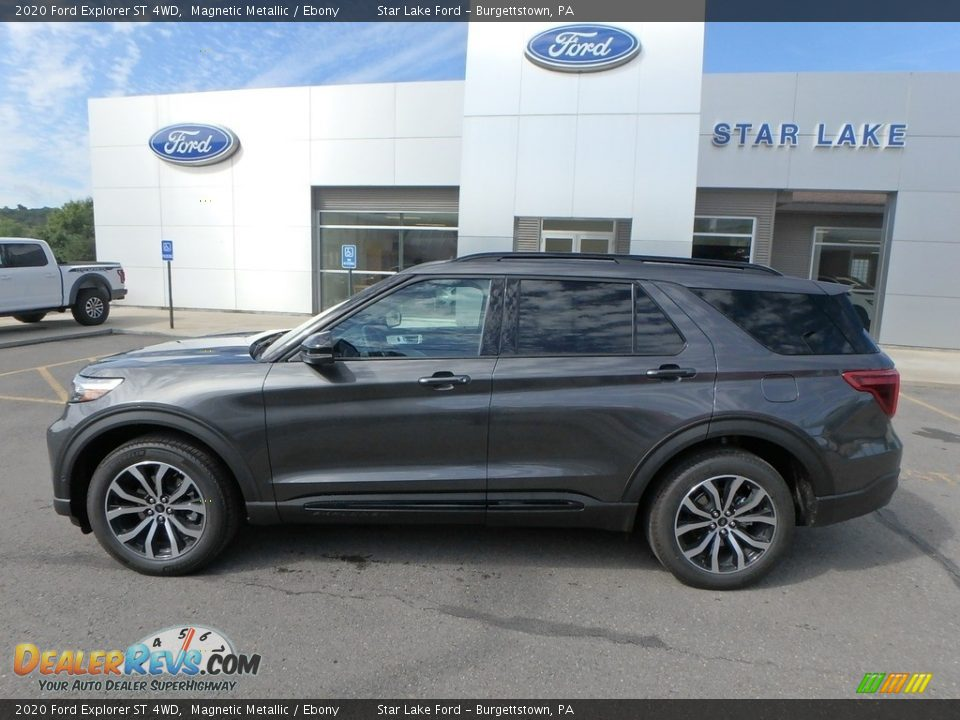 2020 Ford Explorer ST 4WD Magnetic Metallic / Ebony Photo #9