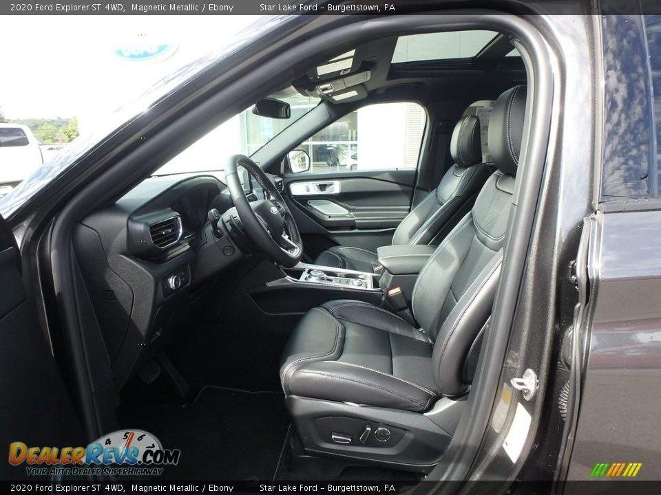 Front Seat of 2020 Ford Explorer ST 4WD Photo #11