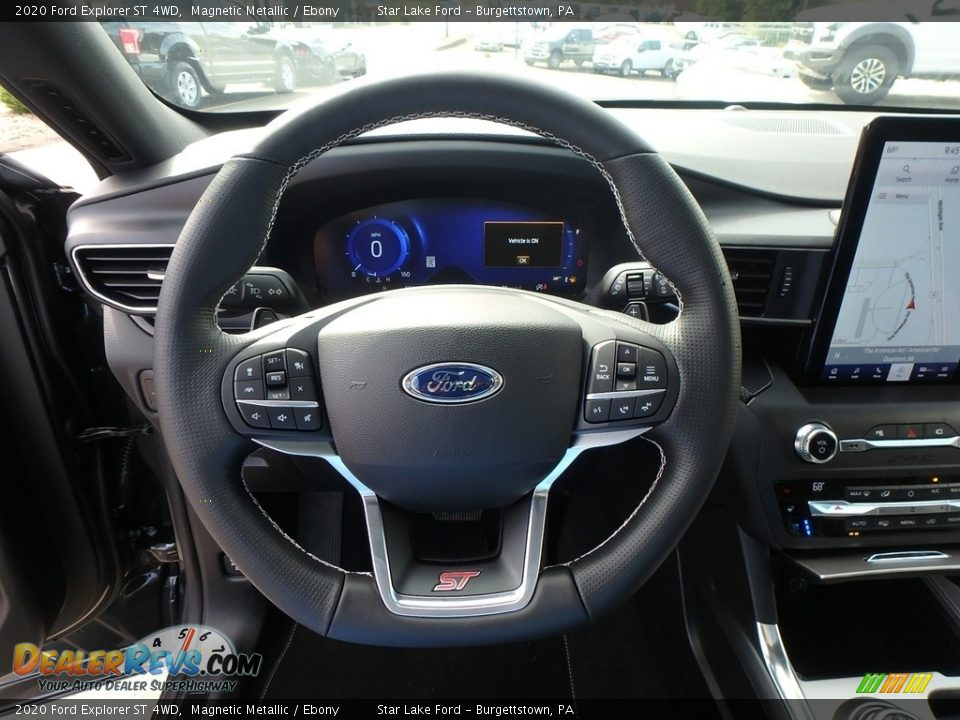 2020 Ford Explorer ST 4WD Steering Wheel Photo #16