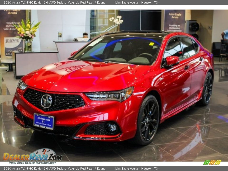 Front 3/4 View of 2020 Acura TLX PMC Edition SH-AWD Sedan Photo #3
