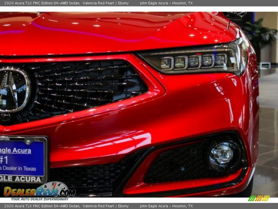 2020 Acura TLX PMC Edition SH-AWD Sedan Valencia Red Pearl / Ebony Photo #13