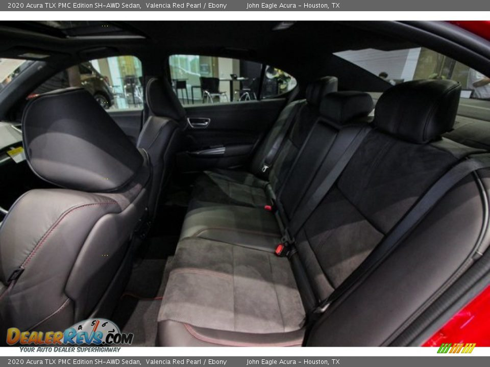 Rear Seat of 2020 Acura TLX PMC Edition SH-AWD Sedan Photo #20