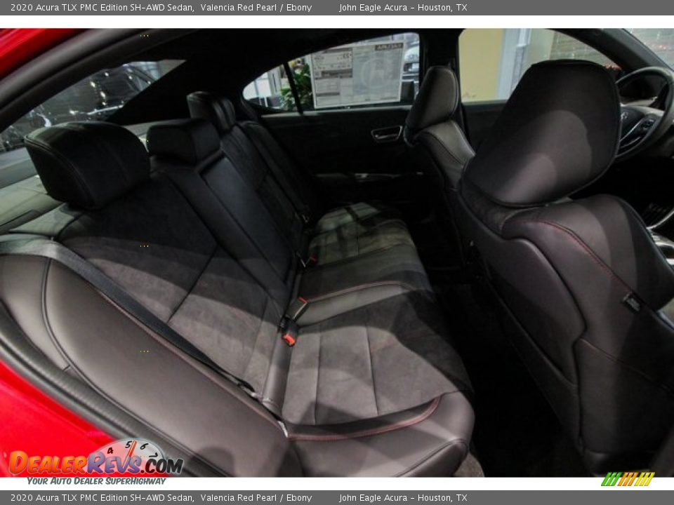 Rear Seat of 2020 Acura TLX PMC Edition SH-AWD Sedan Photo #23