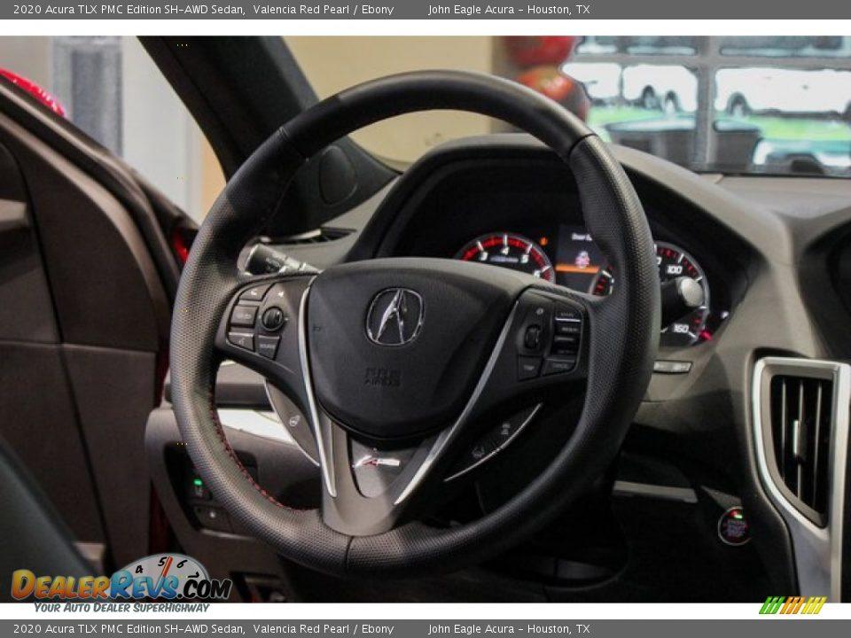 2020 Acura TLX PMC Edition SH-AWD Sedan Steering Wheel Photo #33