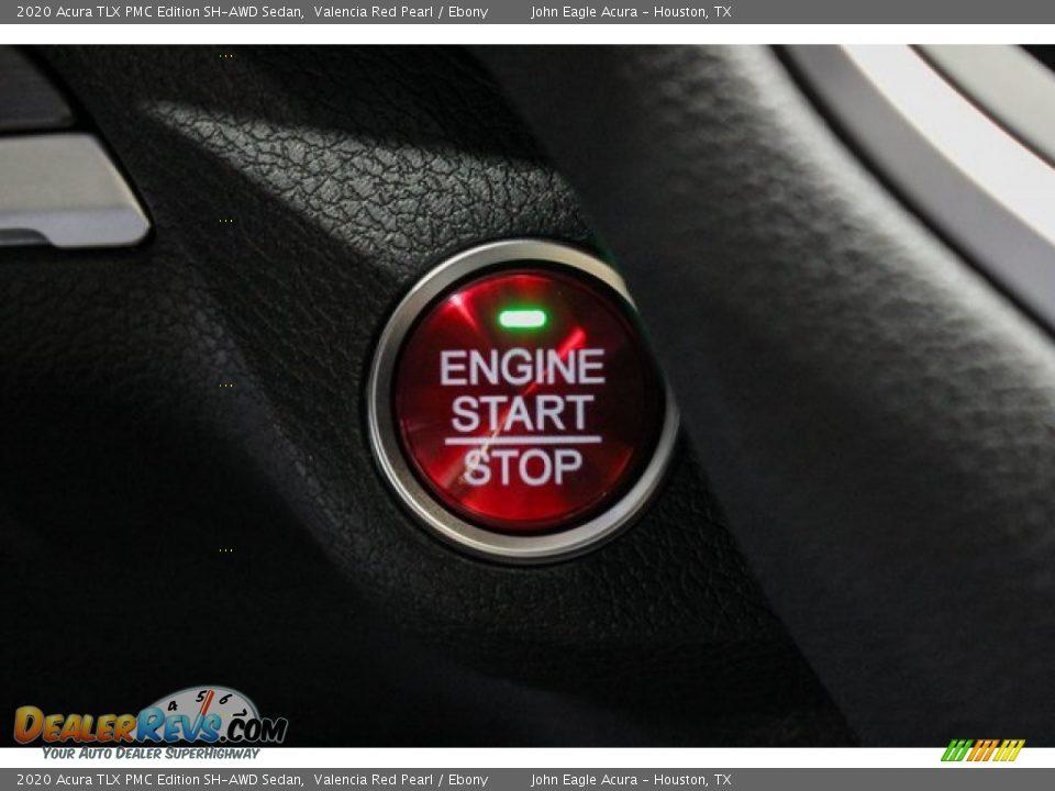 2020 Acura TLX PMC Edition SH-AWD Sedan Valencia Red Pearl / Ebony Photo #36