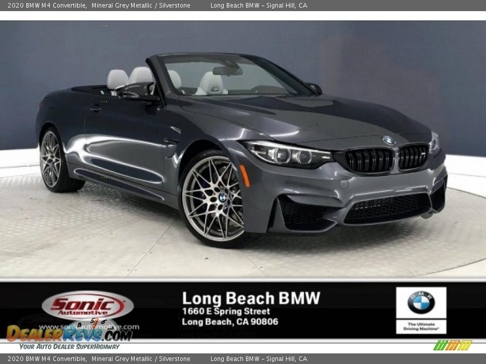 2020 BMW M4 Convertible Mineral Grey Metallic / Silverstone Photo #1