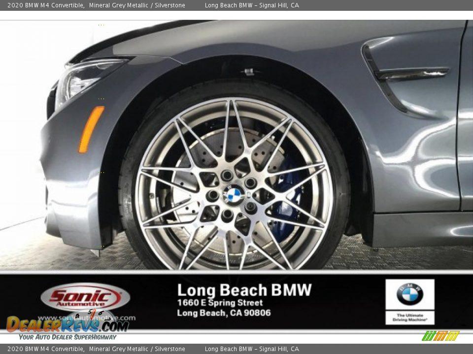 2020 BMW M4 Convertible Mineral Grey Metallic / Silverstone Photo #9