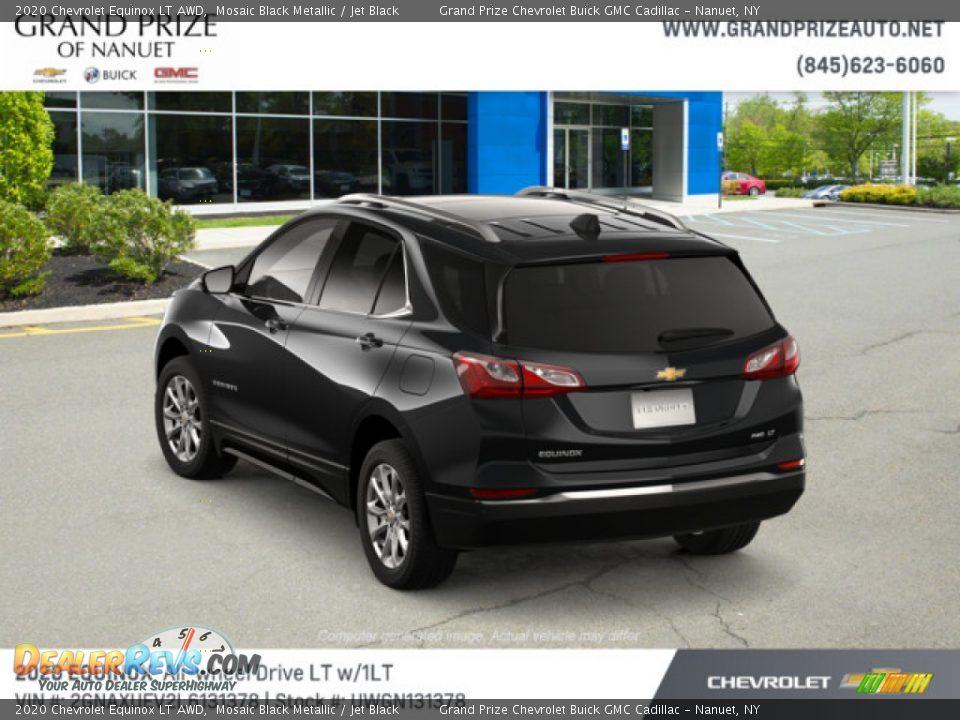 2020 Chevrolet Equinox LT AWD Mosaic Black Metallic / Jet Black Photo #3
