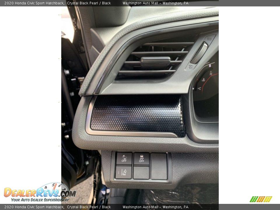Controls of 2020 Honda Civic Sport Hatchback Photo #12