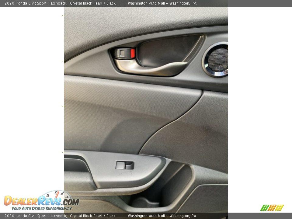 Door Panel of 2020 Honda Civic Sport Hatchback Photo #17