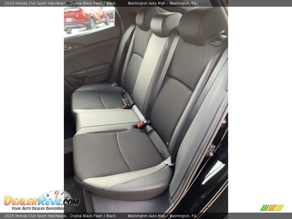 Rear Seat of 2020 Honda Civic Sport Hatchback Photo #18