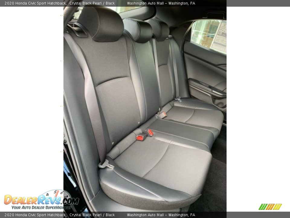 Rear Seat of 2020 Honda Civic Sport Hatchback Photo #23
