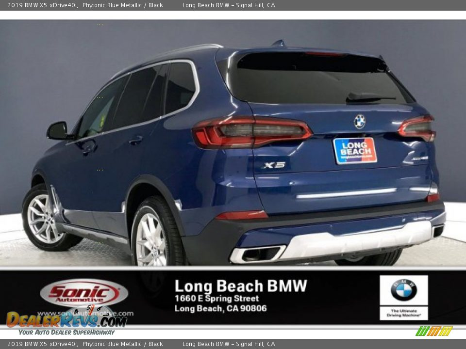 2019 BMW X5 xDrive40i Phytonic Blue Metallic / Black Photo #2