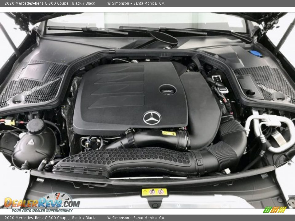 2020 Mercedes-Benz C 300 Coupe 4.0 Liter AMG biturbo DOHC 32-Valve VVT V8 Engine Photo #8