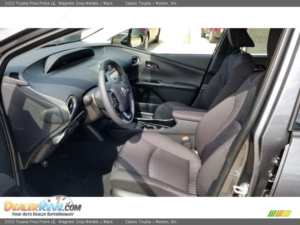 Black Interior - 2020 Toyota Prius Prime LE Photo #2
