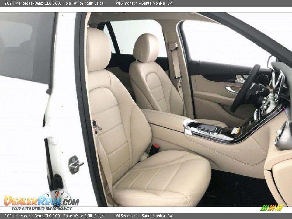 2020 Mercedes-Benz GLC 300 Polar White / Silk Beige Photo #5