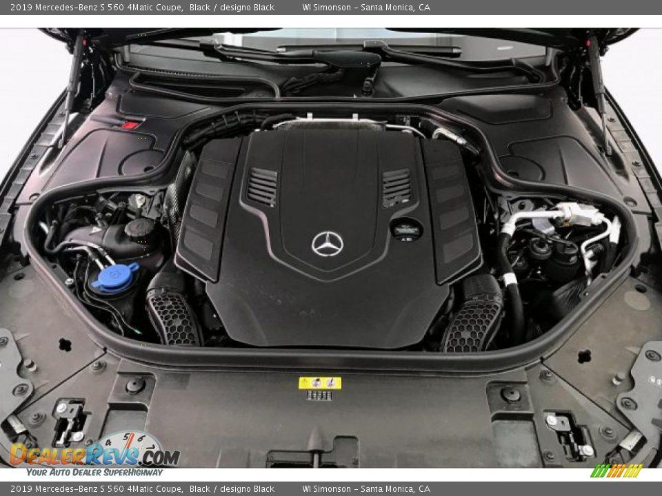 2019 Mercedes-Benz S 560 4Matic Coupe Black / designo Black Photo #8